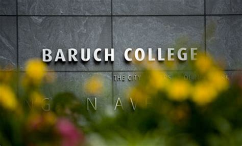 Baruch Mba Admission Percentage by College Admission Statistics