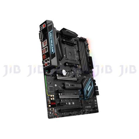 Murah Ori Msi X370 Gaming Pro Socket Am4 Ddr4 mainboard เมนบอร ด am4 msi x370 gaming pro carbon