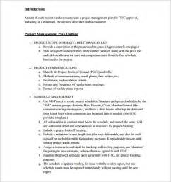 capstone outline template project outline template 10 free word excel pdf