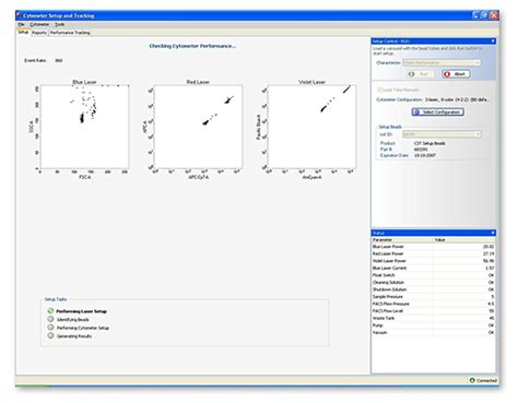 bd cytometer setup and tracking bd biosciences facsdiva software features setup