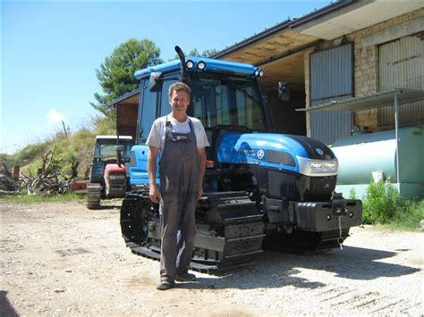 cabine trattori landini consegna landini trekker c 105 con cabina corbo