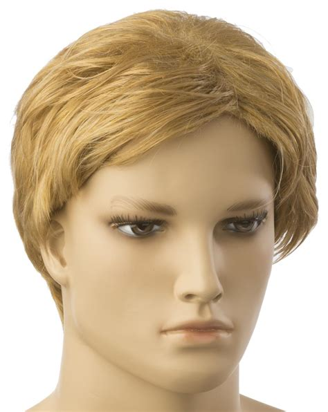 male fashion mannequin wigs wigs for realistic male male blonde mannequin wig short style