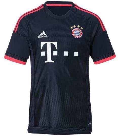 Jersey Bayern Munchen 3rd Kits Adidas Original bayern chions league kit 2015 16 adidas new fc bayern munchen third kit 15 16 football kit