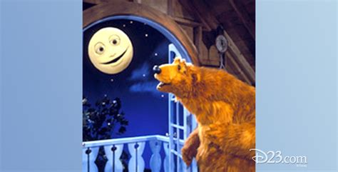 the moon the bear and the big blue house bear in the big blue house television d23