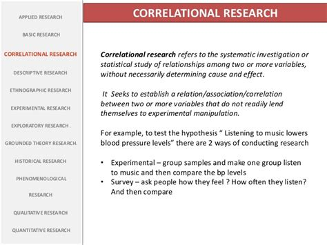design effect correlation types of research