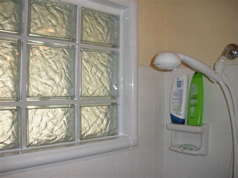 glass block bathroom ideas shower window acrylic glass block bathroom window