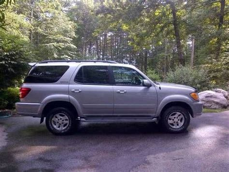 Used Toyota Sequoia In Ma Find Used 2002 Toyota Sequoia Limited 4x4 Excellent