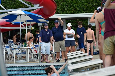 dallas mustangs swim team doug moyse hip hop dancer and coach on the deck the roundup