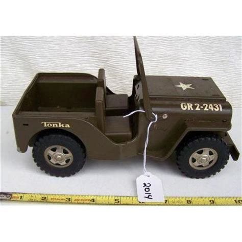 tonka army jeep tonka metal army jeep gr2 2431