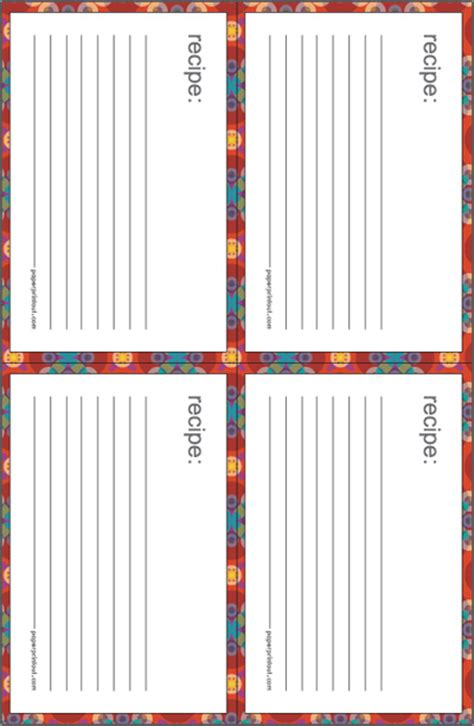 Free Template For 3x5 Recipe Cards by 9 Best Images Of Printable Index Cards With Lines