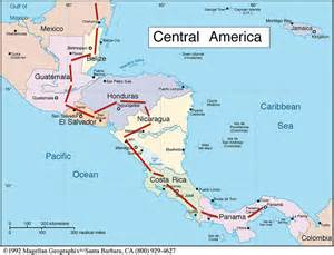 maps map of central and south america cycling the americas 171 en la bicicleta