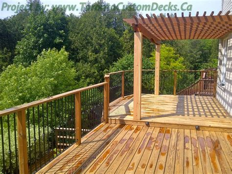 Custom Patios And Decks by The Pergola At The Deck Deck Design Custom Deck