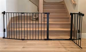 Wide Stair Gates by Extra Wide Child Safety Toddler Stair Gate Baby Safe Homes