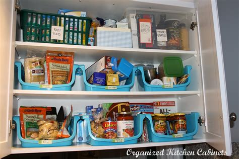 simcoe organizing kitchen cupboards food storage