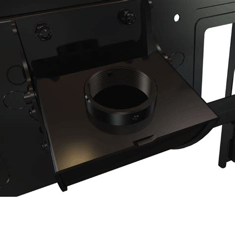 crimson c65 universal ceiling mount lower assembly for xl screens