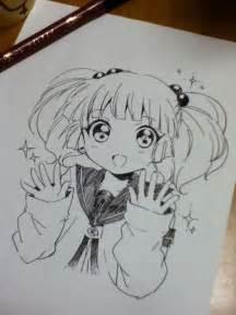 Drawing Anime Girl Uniform
