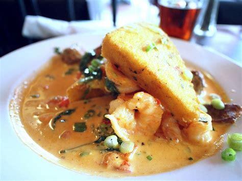 southern comfort sauce southern comfort at asheville s bistro 1896 shrimp