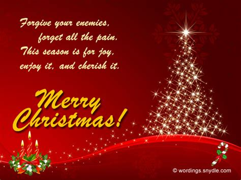 christmas employee speech inspirational card greetings messages for business wordings and messages