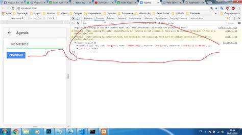 ionic tutorial em portugues php exibir angular json ionic 3 stack overflow em