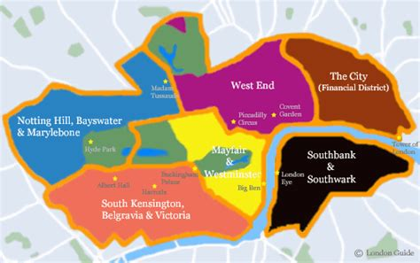london sections map london neighborhoods quotes