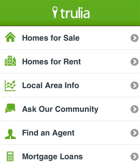 trulia real estate site with plenty of user