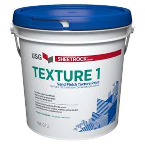 home depot interior paint brands sheetrock brand 128 oz wall and ceiling texture paint