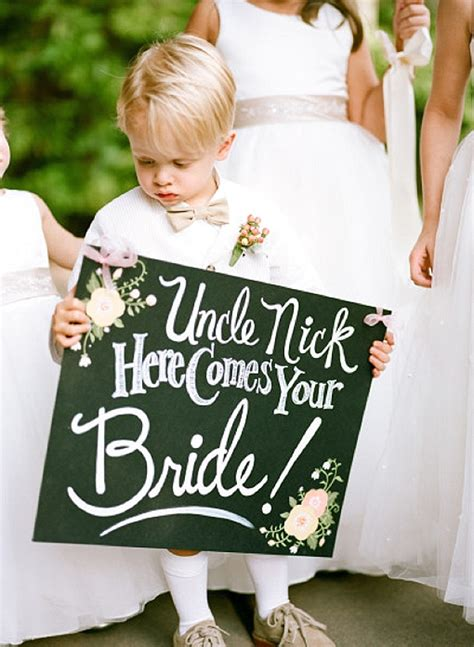 Wedding Banner For Ring Bearer by Here Comes The Signs The Wedding Of My Dreamsthe
