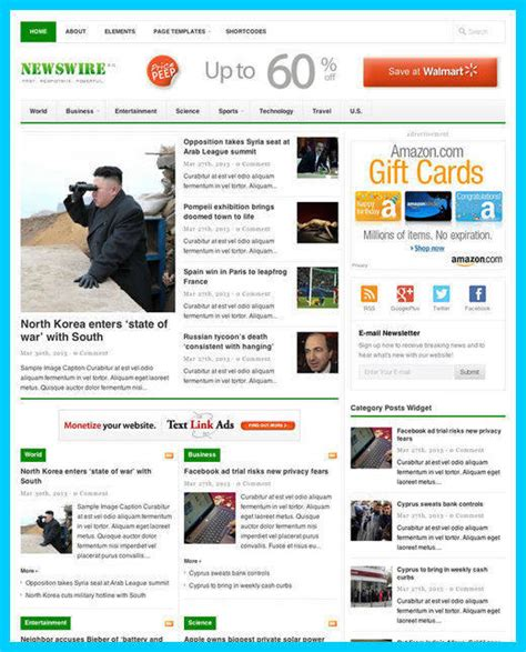 shopy theme review theme junkie read this theme junkie newswire review must read