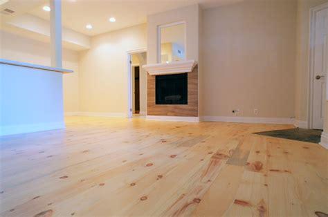 Refinishing Kitchen Cabinet Doors by Knotty White Pine Wide Plank Hardwood Floor Refinishing