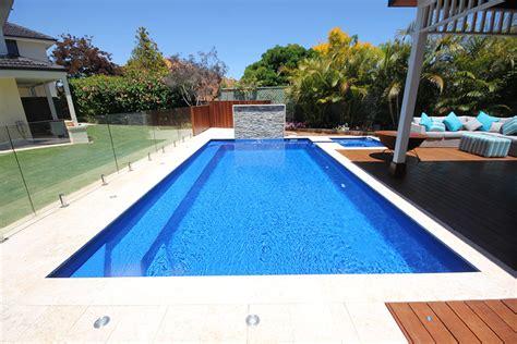 Salt Box Homes valentina fibreglass swiming pool 8m x 4m aqua technics