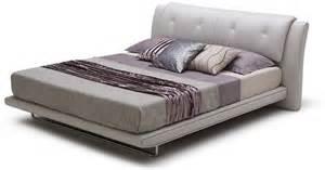 Modern leather platform bed furniture store chicago
