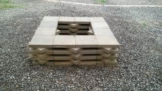 How To Build A Firepit With Pavers How To Build A Paver Pit Fireplace Design Ideas