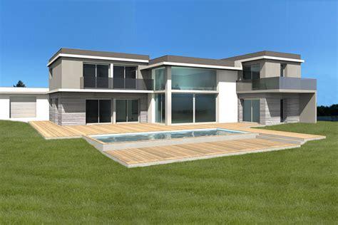 Agréable Photo Maison En Bois #4: Prjet-maison-piscine-01.jpg