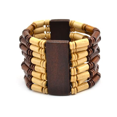 wooden bracelet fashion wooden elastic stretch wood bracelet bangle