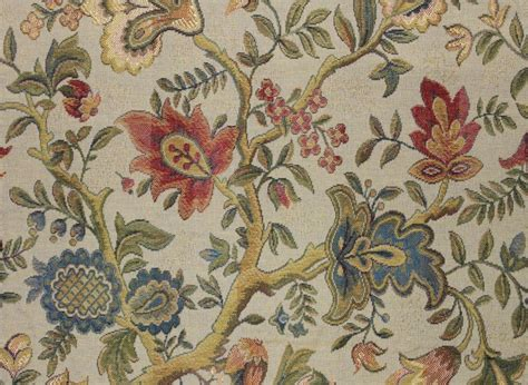 victorian upholstery fabric 3 1 4 yards floral tapestry upholstery fabric jacquard