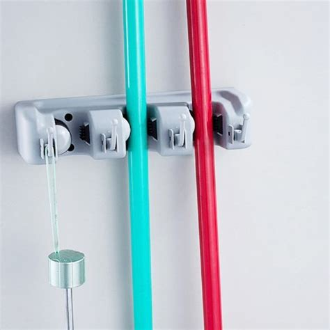 garden tool wall storage home it mop and broom holder wall mounted garden tool