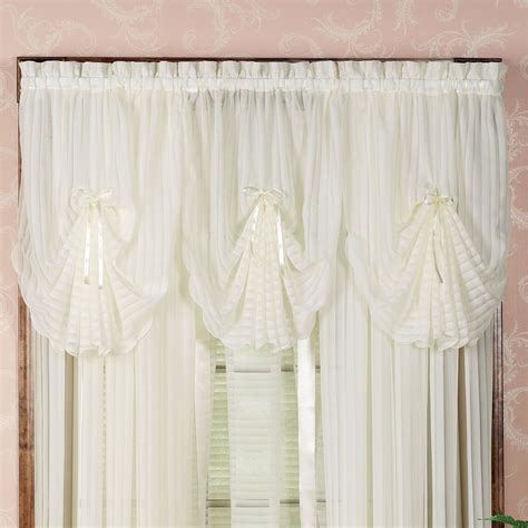 Striped Window Valances nimbus stripe fan valance and window treatment