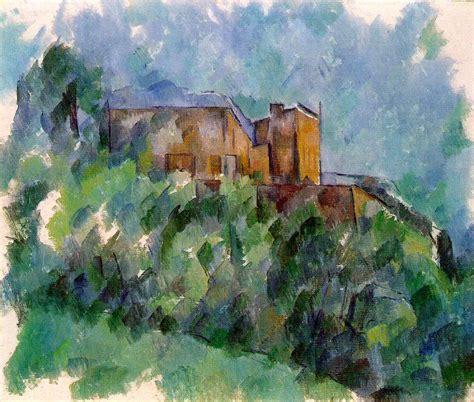 cezanne and cubism cezanne chateau noir