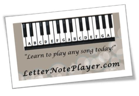 letter note player letter note player 1375