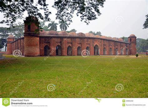 masjid gumbad design saith gumbad masjid royalty free stock photos image