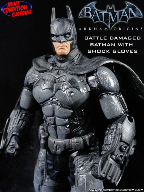 Batman Arkham Custom Repaint mc customs batman 1989 style neca repaint pg 10 page 9 the fwoosh forums