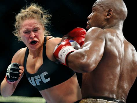 Mba And Mma by Could Ufc Chion Ronda Rousey Beat Floyd