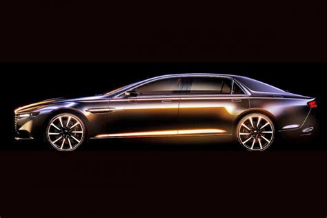 Aston Martin Lagonda confirmed   pictures   Auto Express