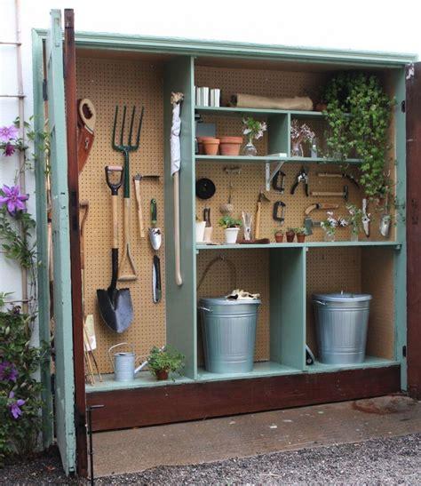 shed organization diy tiny potting shed s garage gardenista the yard