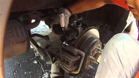 honda crv  wheel bearing hub assembly replacement diy youtube