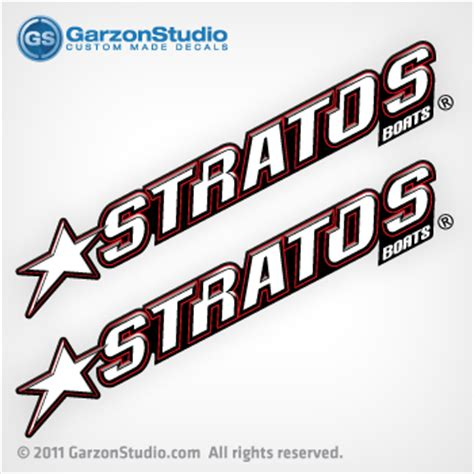stratos boat wax stratos boats decals by set johnsondecals