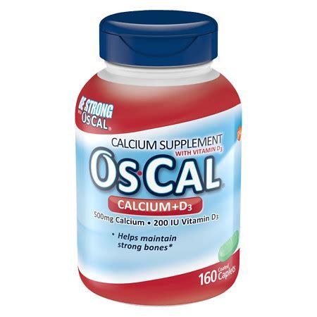 Os Cal os cal calcium 500mg with vitamin d3 200 iu caplets