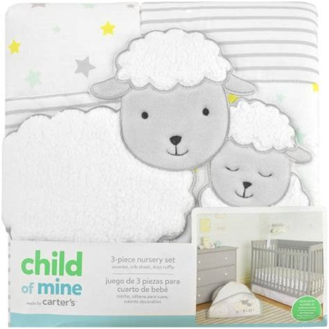 s child of mine sheep family 3 crib bedding