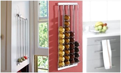 cool nespresso capsules storage ideas