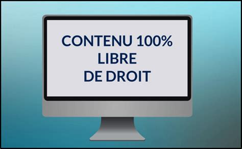 comment utiliser du contenu en droits libres » marketeur web